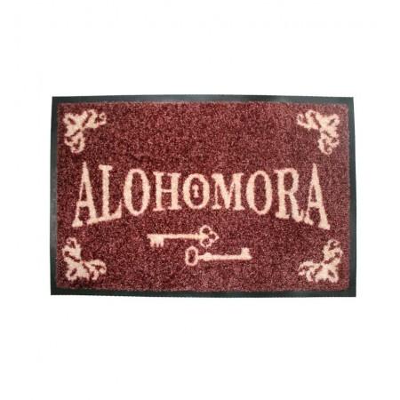 """Felpudo con texto """"Alohomora"""""""