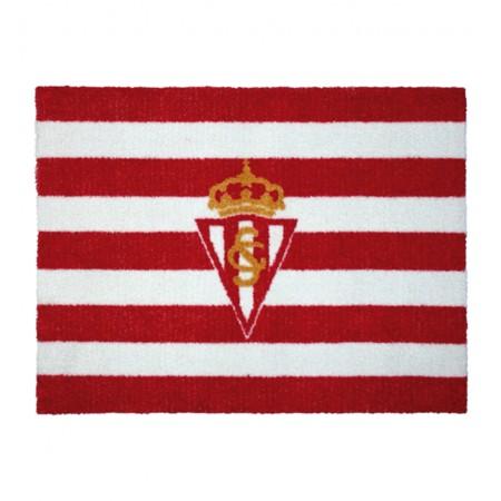 Alfombra Oficial Sporting Gijón Escudo y Bandera