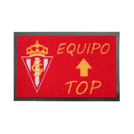 Felpudo Oficial Sporting Gijón Equipo Top