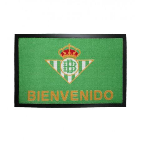 Felpudo Oficial Real Betis Balompié Bienvenido