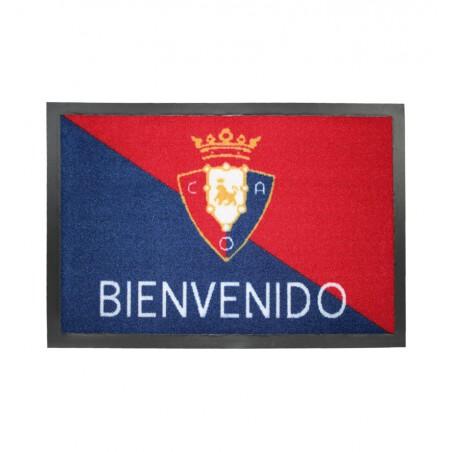 Felpudo Oficial Club Atlético Osasuna Bienvenido