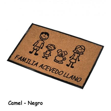 Felpudo Personalizado Familia 2