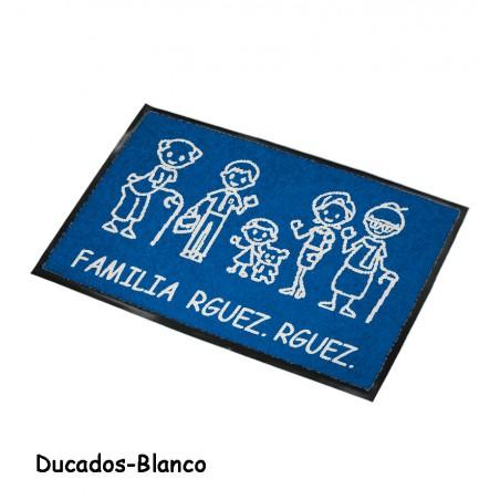 Felpudo Personalizado Familia 4