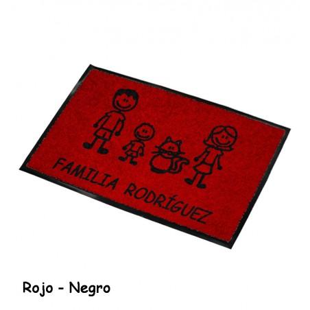 Felpudo Personalizado Familia 8