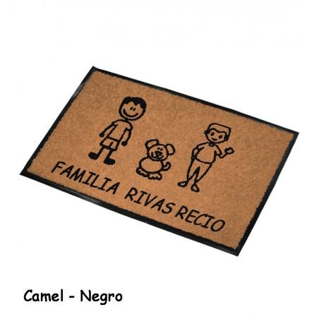 Felpudo Personalizado Familia 13