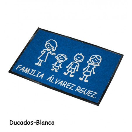 Felpudo Personalizado Familia 14