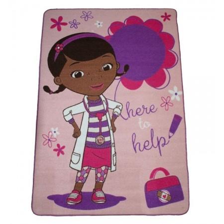 Alfombra infantil doctora juguetes