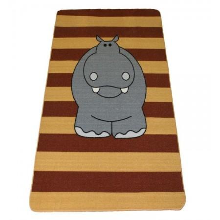 Alfombra infantil hipopótamo