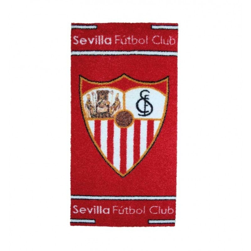 Alfombra escudo oficial Sevilla FC en color