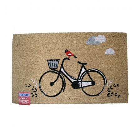 Felpudo de coco Bicicleta