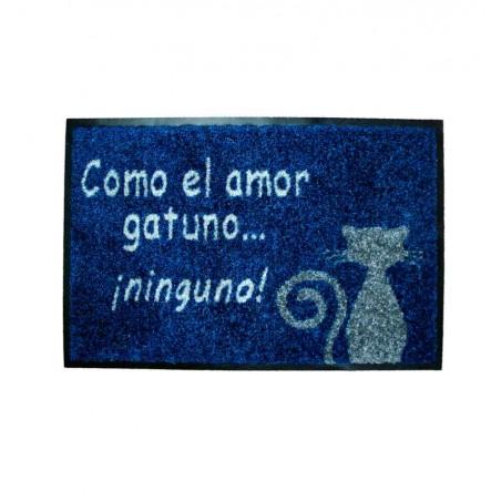 Felpudo Como El Amor Gatuno... Ninguno!